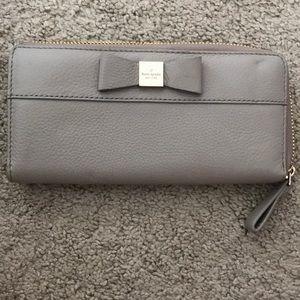 Grayish Kate spade wallet